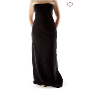 Black Wool Vintage Banana Republic Gown 10